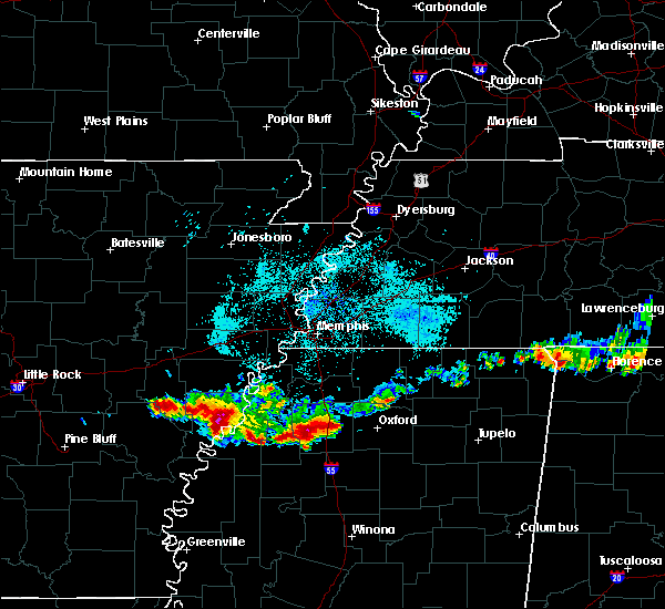 Radar Image for Severe Thunderstorms near Pope, MS at 6/30/2015 1:47 AM CDT