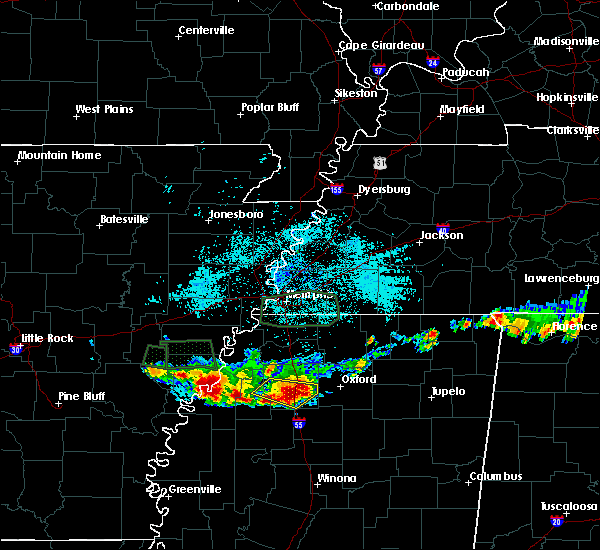 Radar Image for Severe Thunderstorms near Pope, MS at 6/30/2015 2:11 AM CDT