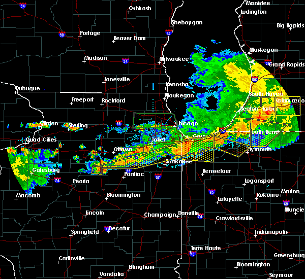 Radar Image for Severe Thunderstorms near Reddick, IL at 6/26/2020 8:56 PM CDT