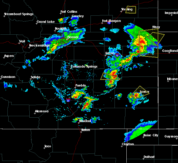 Radar Image for Severe Thunderstorms near Lamar, CO at 6/26/2020 8:00 PM MDT