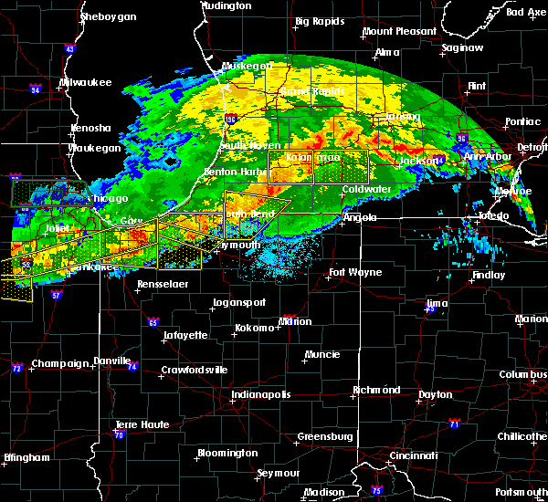 Radar Image for Severe Thunderstorms near La Crosse, IN at 6/26/2020 9:03 PM CDT