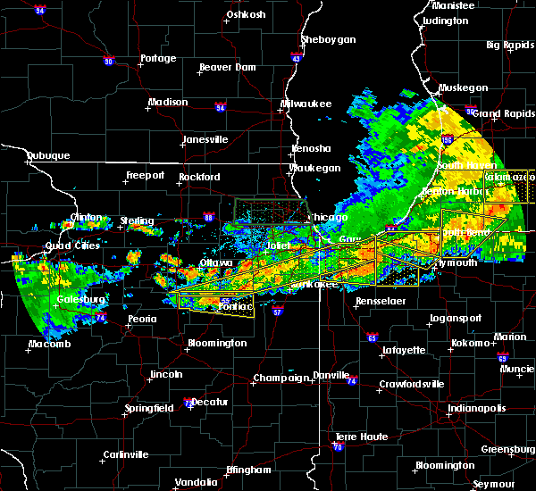 Radar Image for Severe Thunderstorms near Reddick, IL at 6/26/2020 9:13 PM CDT