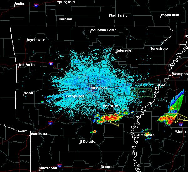 Radar Image for Severe Thunderstorms near Star City, AR at 6/30/2015 3:45 AM CDT