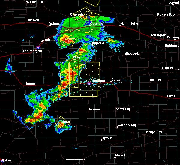 Radar Image for Severe Thunderstorms near Bird City, KS at 6/26/2020 8:30 PM MDT