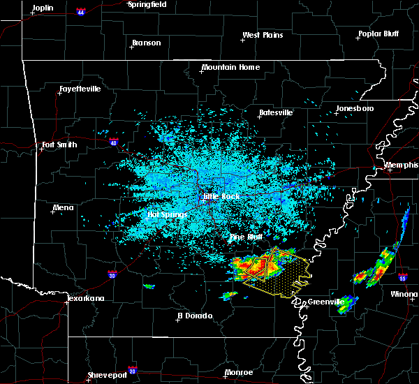 Radar Image for Severe Thunderstorms near Winchester, AR at 6/30/2015 4:20 AM CDT