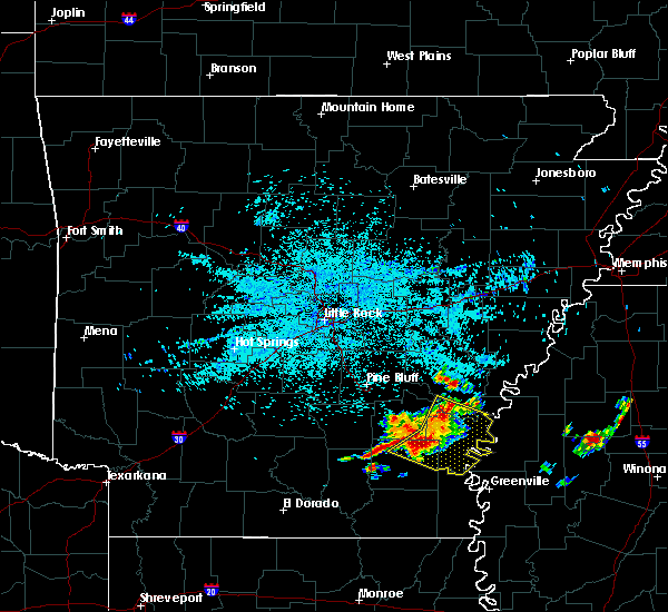 Radar Image for Severe Thunderstorms near Winchester, AR at 6/30/2015 4:38 AM CDT