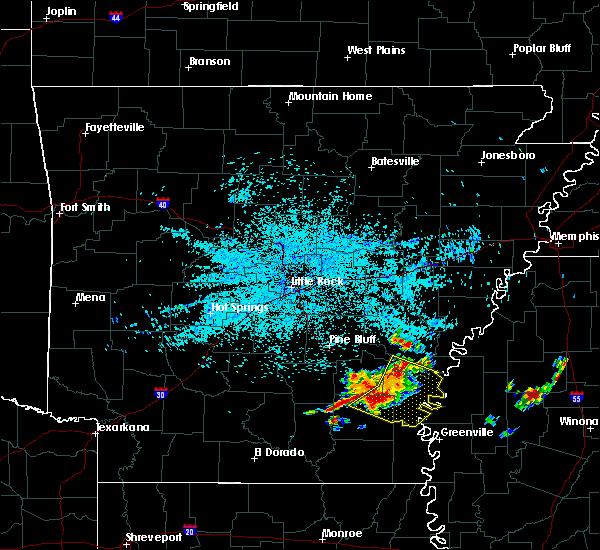 Radar Image for Severe Thunderstorms near Arkansas City, AR at 6/30/2015 4:38 AM CDT