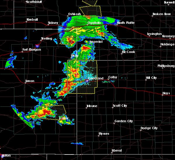Radar Image for Severe Thunderstorms near Bird City, KS at 6/26/2020 8:52 PM MDT
