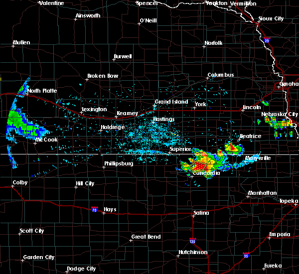 Radar Image for Severe Thunderstorms near Clyde, KS at 6/26/2020 9:52 PM CDT