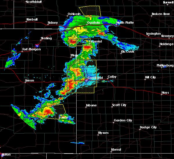 Radar Image for Severe Thunderstorms near Bird City, KS at 6/26/2020 9:03 PM MDT