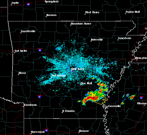 Radar Image for Severe Thunderstorms near Winchester, AR at 6/30/2015 4:49 AM CDT