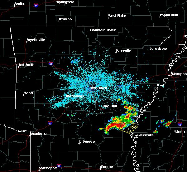 Radar Image for Severe Thunderstorms near Arkansas City, AR at 6/30/2015 4:49 AM CDT