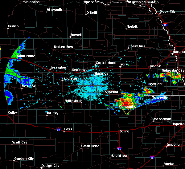 Radar Image for Severe Thunderstorms near Clyde, KS at 6/26/2020 10:09 PM CDT