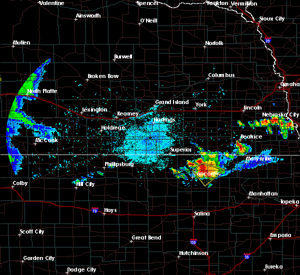 Radar Image for Severe Thunderstorms near Clyde, KS at 6/26/2020 10:13 PM CDT