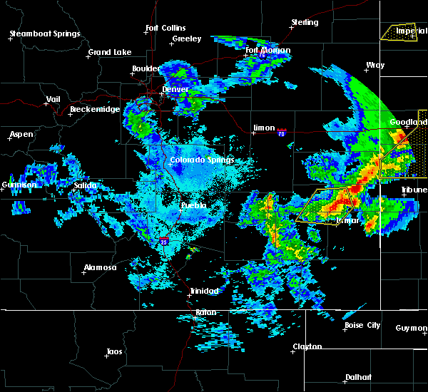 Radar Image for Severe Thunderstorms near Lamar, CO at 6/26/2020 9:44 PM MDT