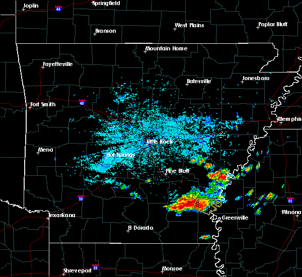 Radar Image for Severe Thunderstorms near McGehee, AR at 6/30/2015 5:07 AM CDT