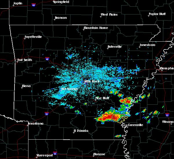 Radar Image for Severe Thunderstorms near Arkansas City, AR at 6/30/2015 5:07 AM CDT