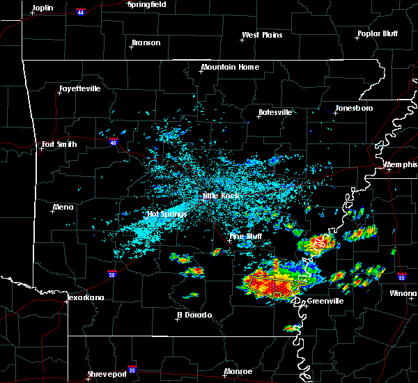Radar Image for Severe Thunderstorms near Monticello, AR at 6/30/2015 5:25 AM CDT