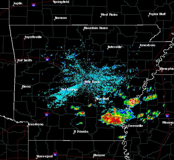Radar Image for Severe Thunderstorms near Arkansas City, AR at 6/30/2015 5:25 AM CDT