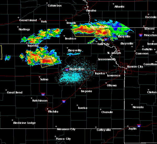 Radar Image for Severe Thunderstorms near Aurora, KS at 6/26/2020 11:34 PM CDT