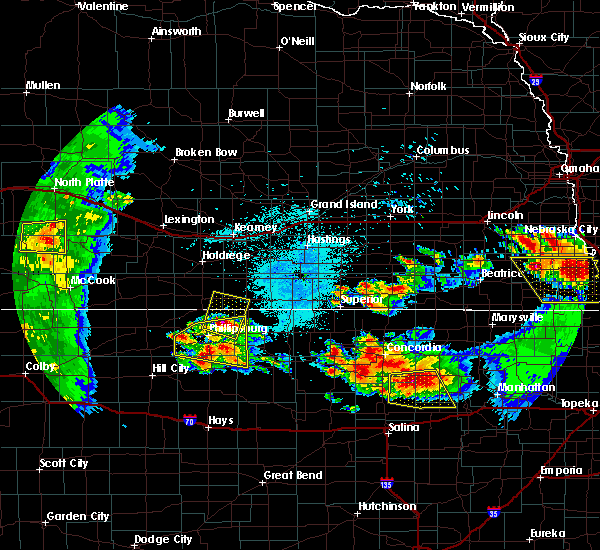 Radar Image for Severe Thunderstorms near Alton, KS at 6/26/2020 11:50 PM CDT