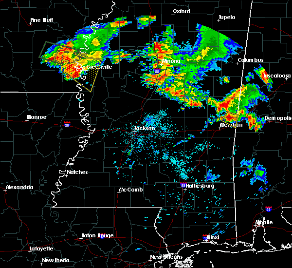 Radar Image for Severe Thunderstorms near Lauderdale, MS at 6/30/2015 5:56 AM CDT