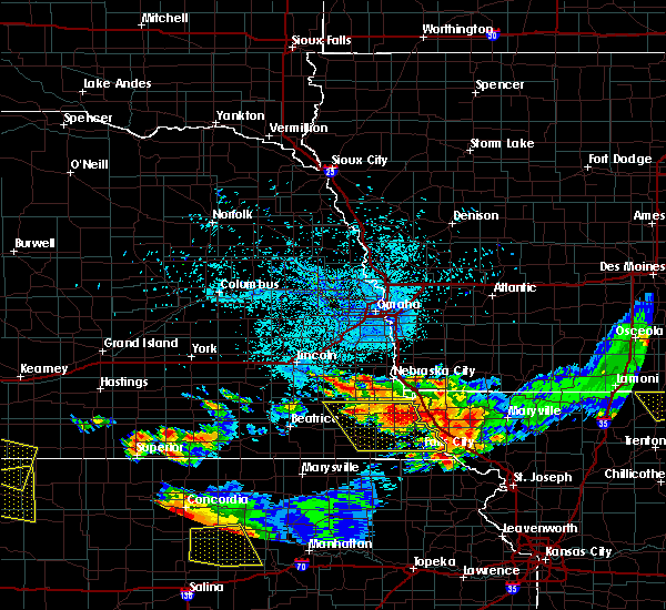 Radar Image for Severe Thunderstorms near Barada, NE at 6/26/2020 11:58 PM CDT