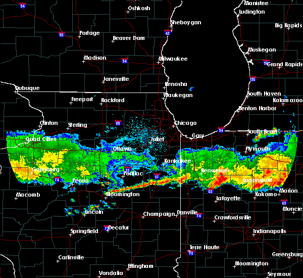 Radar Image for Severe Thunderstorms near Kentland, IN at 6/27/2020 12:07 AM CDT