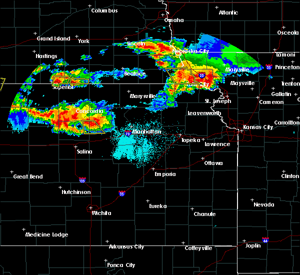 Radar Image for Severe Thunderstorms near Barada, NE at 6/27/2020 12:28 AM CDT
