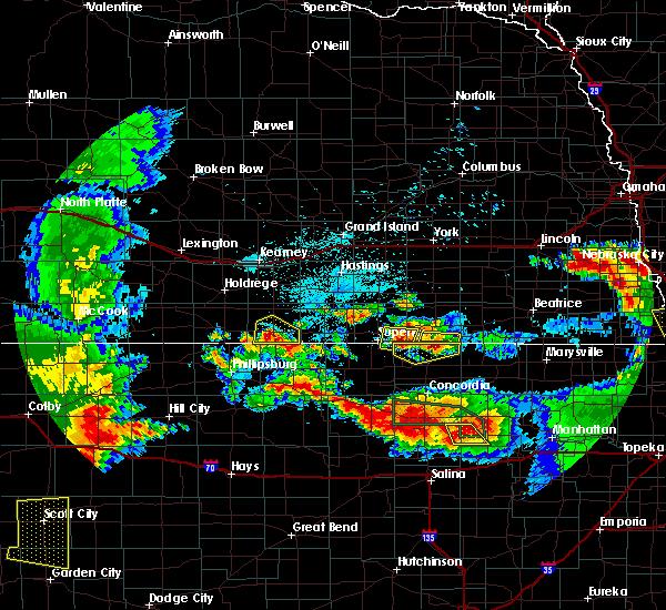 Radar Image for Severe Thunderstorms near Republic, KS at 6/27/2020 12:43 AM CDT