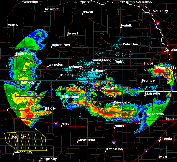 Radar Image for Severe Thunderstorms near Riverton, NE at 6/27/2020 12:52 AM CDT
