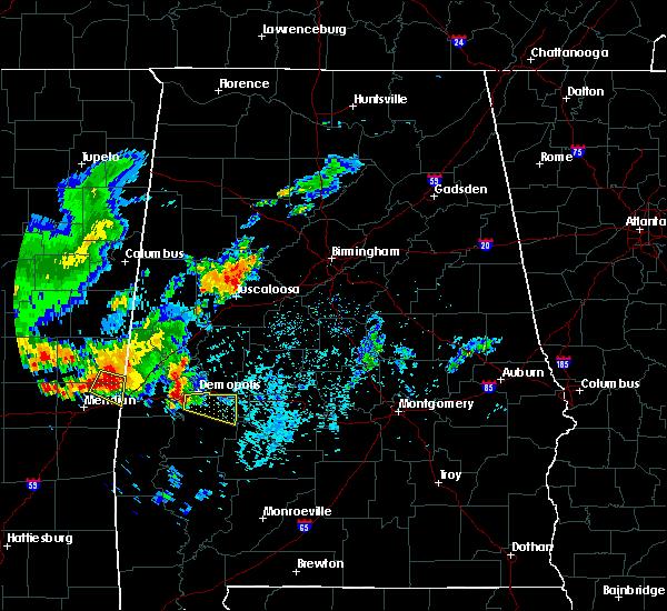 Radar Image for Severe Thunderstorms near Demopolis, AL at 6/30/2015 6:33 AM CDT