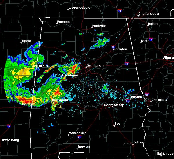 Radar Image for Severe Thunderstorms near Demopolis, AL at 6/30/2015 6:57 AM CDT