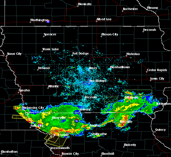 Radar Image for Severe Thunderstorms near Downing, MO at 6/27/2020 1:43 AM CDT