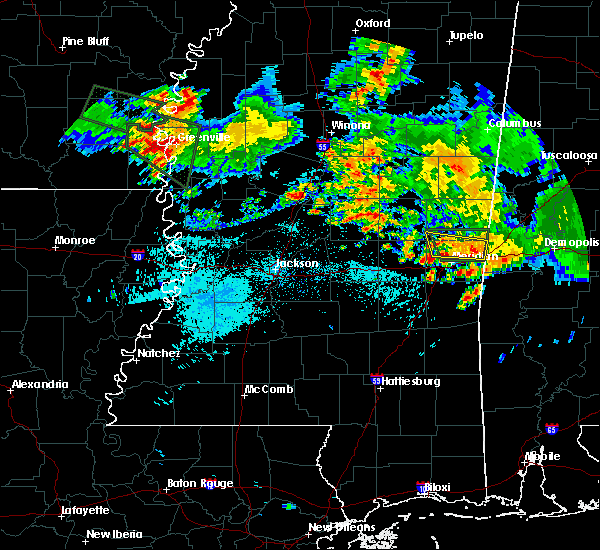 Radar Image for Severe Thunderstorms near Lauderdale, MS at 6/30/2015 7:39 AM CDT