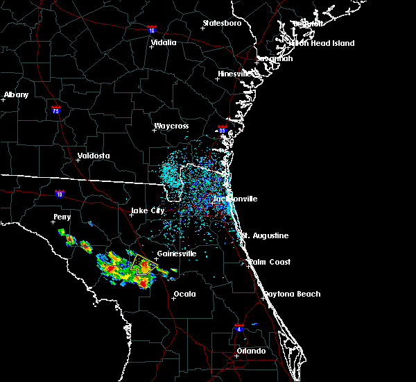 Radar Image for Severe Thunderstorms near Gainesville, FL at 6/27/2020 2:14 PM EDT