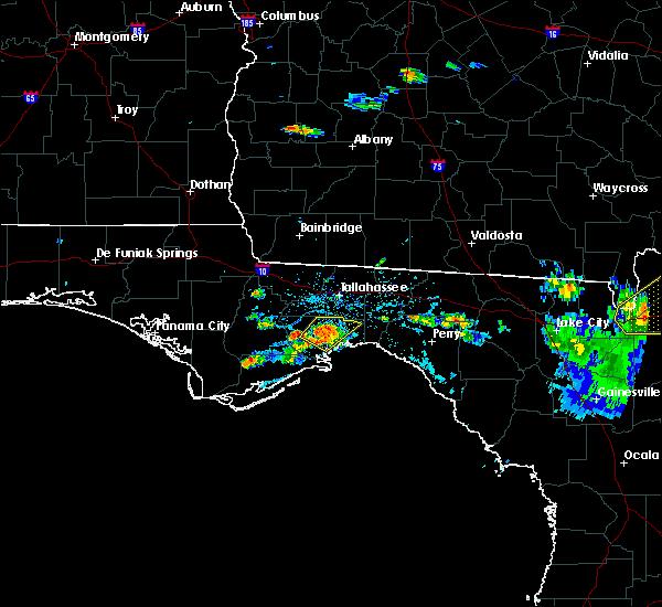 Radar Image for Severe Thunderstorms near Woodville, FL at 6/27/2020 5:25 PM EDT