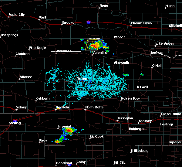 Radar Image for Severe Thunderstorms near Mission, SD at 6/27/2020 6:34 PM CDT