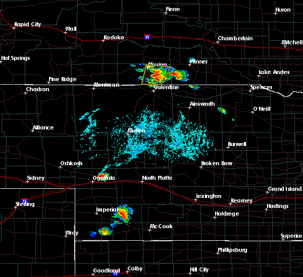 Radar Image for Severe Thunderstorms near Mission, SD at 6/27/2020 6:53 PM CDT