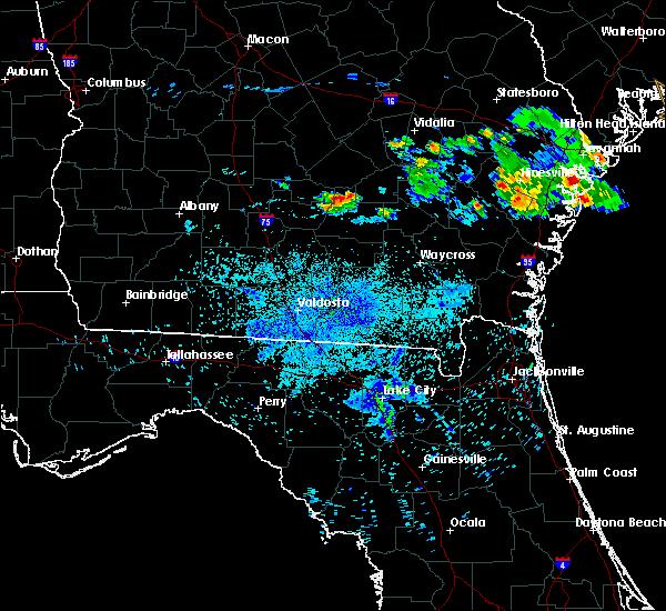 Radar Image for Severe Thunderstorms near Denton, GA at 6/27/2020 10:08 PM EDT