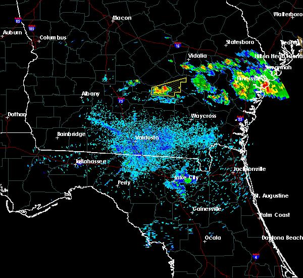 Radar Image for Severe Thunderstorms near Denton, GA at 6/27/2020 10:24 PM EDT