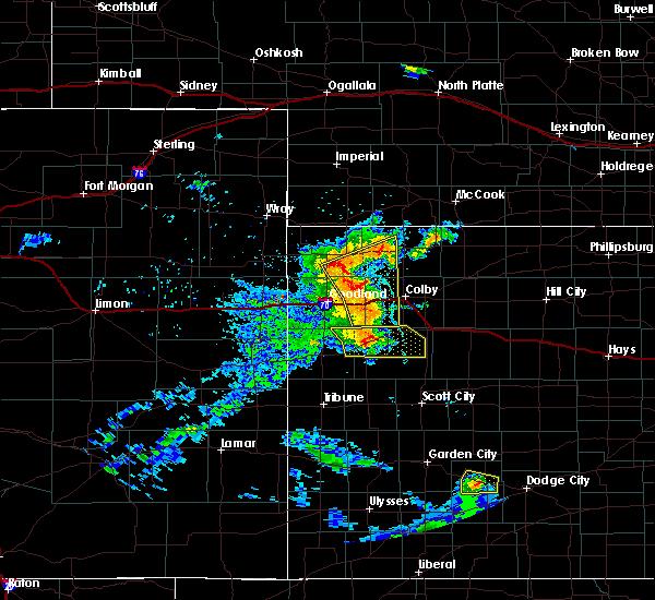 Radar Image for Severe Thunderstorms near Bird City, KS at 6/27/2020 8:53 PM MDT
