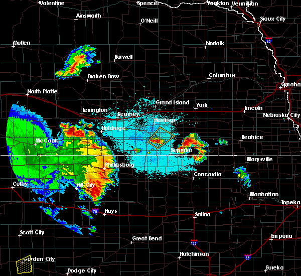 Radar Image for Severe Thunderstorms near Milligan, NE at 6/28/2020 12:24 AM CDT