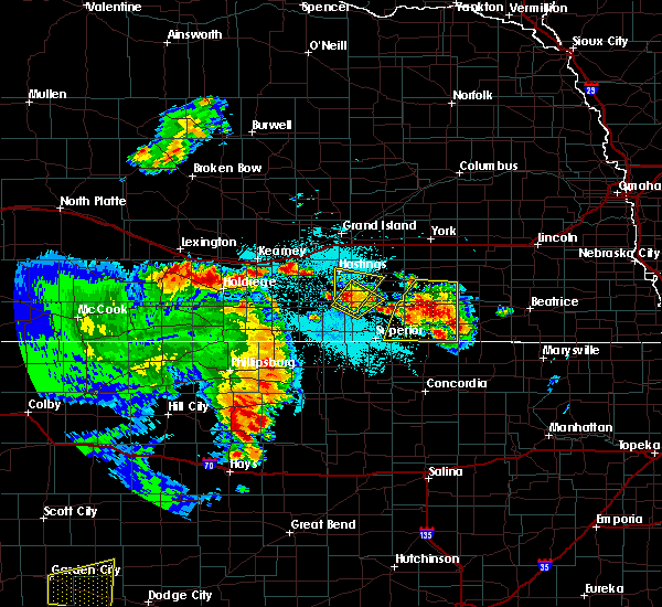 Radar Image for Severe Thunderstorms near Inland, NE at 6/28/2020 12:45 AM CDT