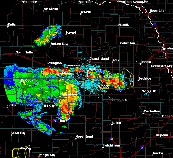 Radar Image for Severe Thunderstorms near Milligan, NE at 6/28/2020 12:49 AM CDT