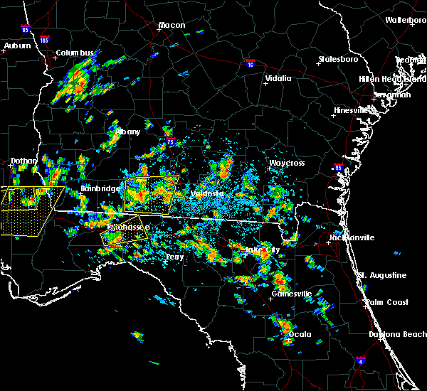 Radar Image for Severe Thunderstorms near Moultrie, GA at 6/30/2015 12:30 PM EDT