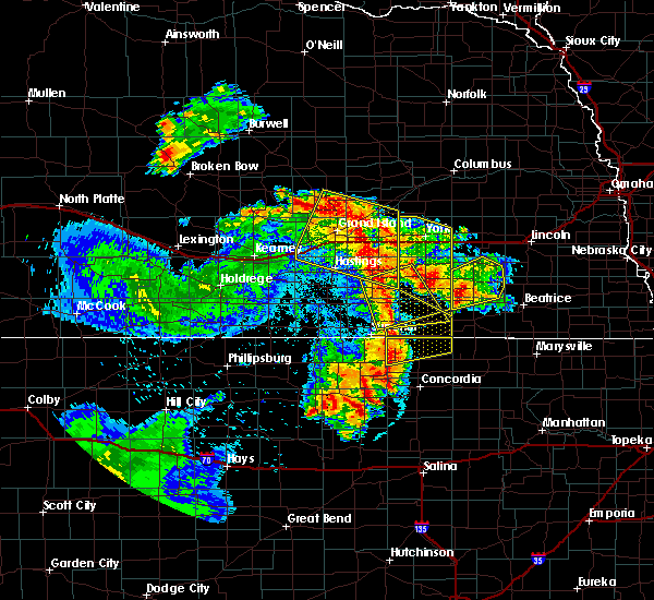 Radar Image for Severe Thunderstorms near Saronville, NE at 6/28/2020 1:55 AM CDT