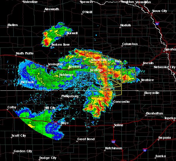 Radar Image for Severe Thunderstorms near Daykin, NE at 6/28/2020 2:05 AM CDT