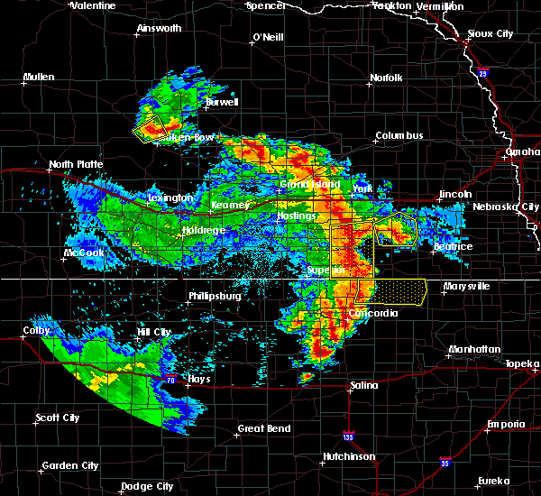 Radar Image for Severe Thunderstorms near Milligan, NE at 6/28/2020 2:18 AM CDT