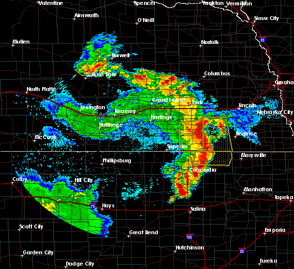 Radar Image for Severe Thunderstorms near Milligan, NE at 6/28/2020 2:39 AM CDT